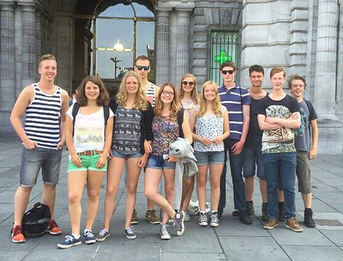 Explorers in Antwerpen